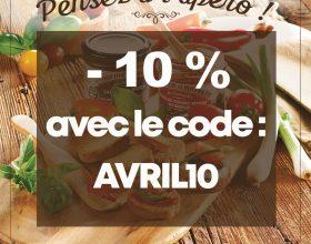 Promotion -10% sur votre apéro à Brest