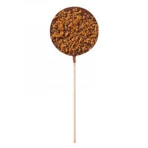 Chocolat lait caramel – Sucette Chocolat 50G
