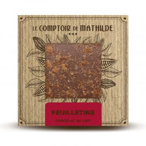 Tablette Feuilletine – Chocolat au lait 80G