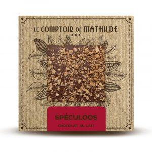 Tablette Spéculoos – Chocolat lait 80G
