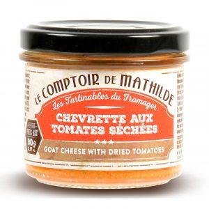 Chevrette aux Tomates Séchées 90G
