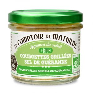 Courgettes grillées au sel de Guérande – Biologique 90G