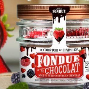 FONDUE AU CHOCOLAT NOIR 200G