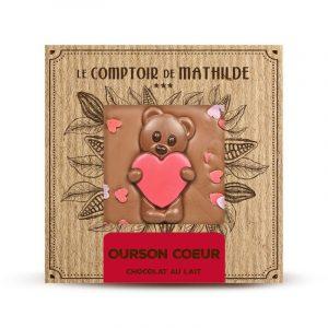 Chocolat LAIT OURSON COEUR