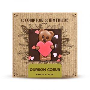 Chocolat NOIR OURSON COEUR